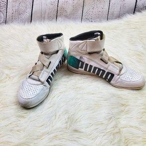 puma mercedes high ankle shoes